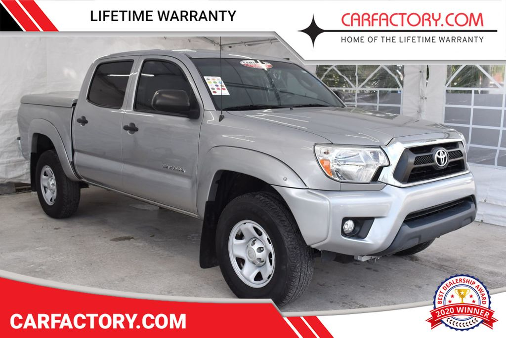 2015 Toyota Tacoma 2WD Double Cab V6 AT PreRunner - 18387276 - 0
