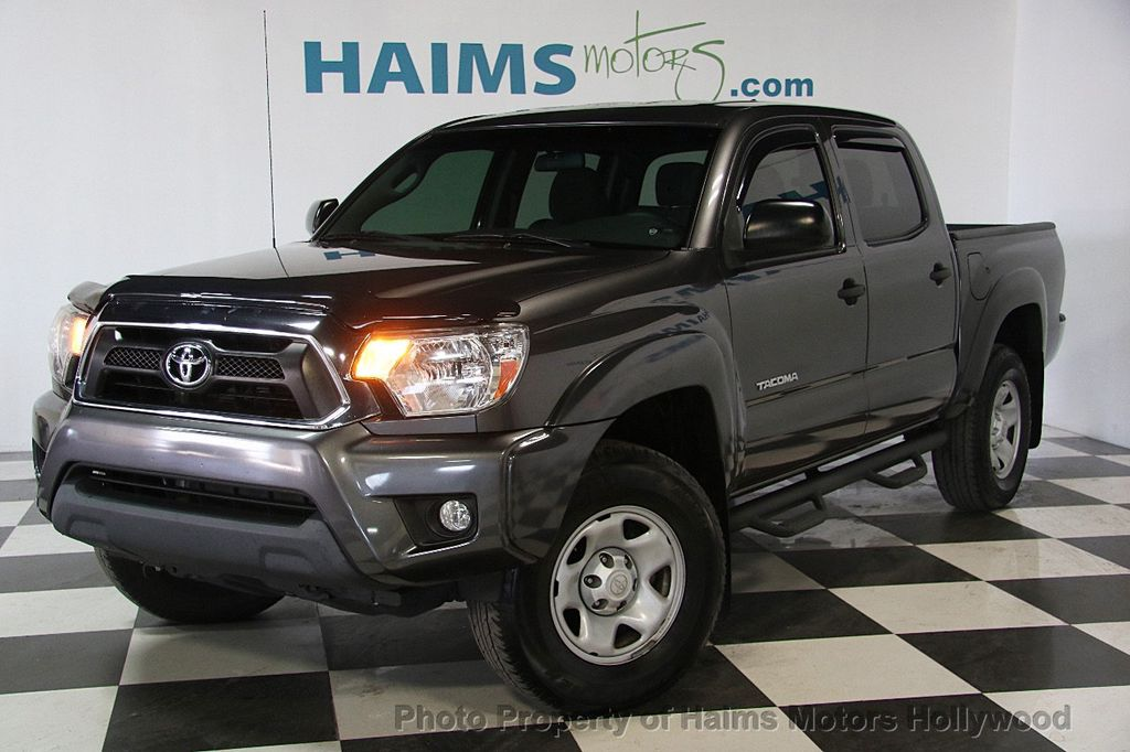 2015 Toyota Tacoma 2WD Double Cab V6 AT PreRunner - 17149349 - 1