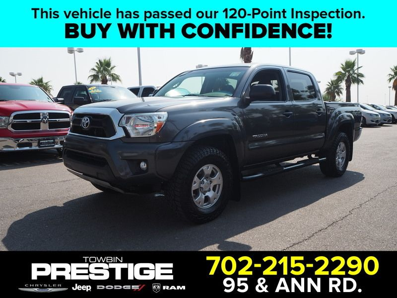 2015 Toyota Tacoma 2WD Double Cab V6 AT PreRunner - 17937403 - 0