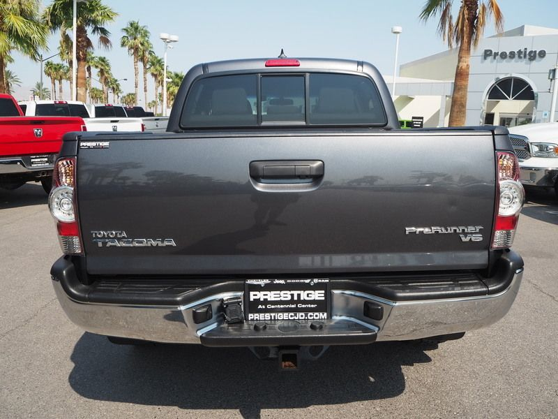2015 Toyota Tacoma 2WD Double Cab V6 AT PreRunner - 17937403 - 10
