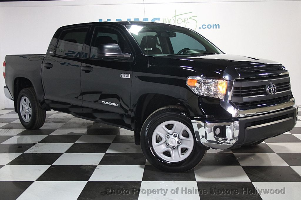 2015 Used Toyota Tundra Crewmax 5 7l Ffv V8 6 Spd At Sr5 Gs At Haims Motors Serving Fort