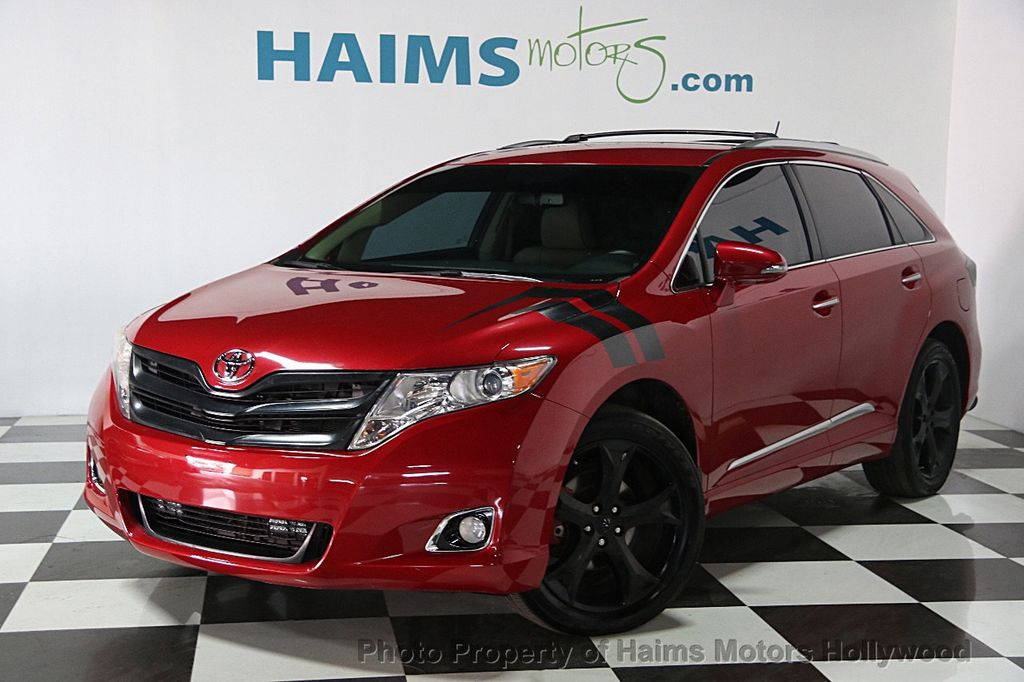 2015 Used Toyota Venza 4dr Wagon V6 AWD XLE at Haims Motors