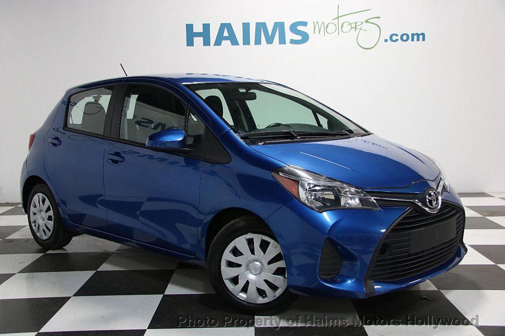 2015 Used Toyota Yaris 5dr Liftback Automatic L At Haims Motors