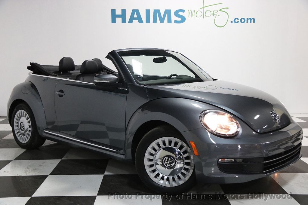 2015 Used Volkswagen Beetle Convertible 2dr Automatic 1 8T Classic