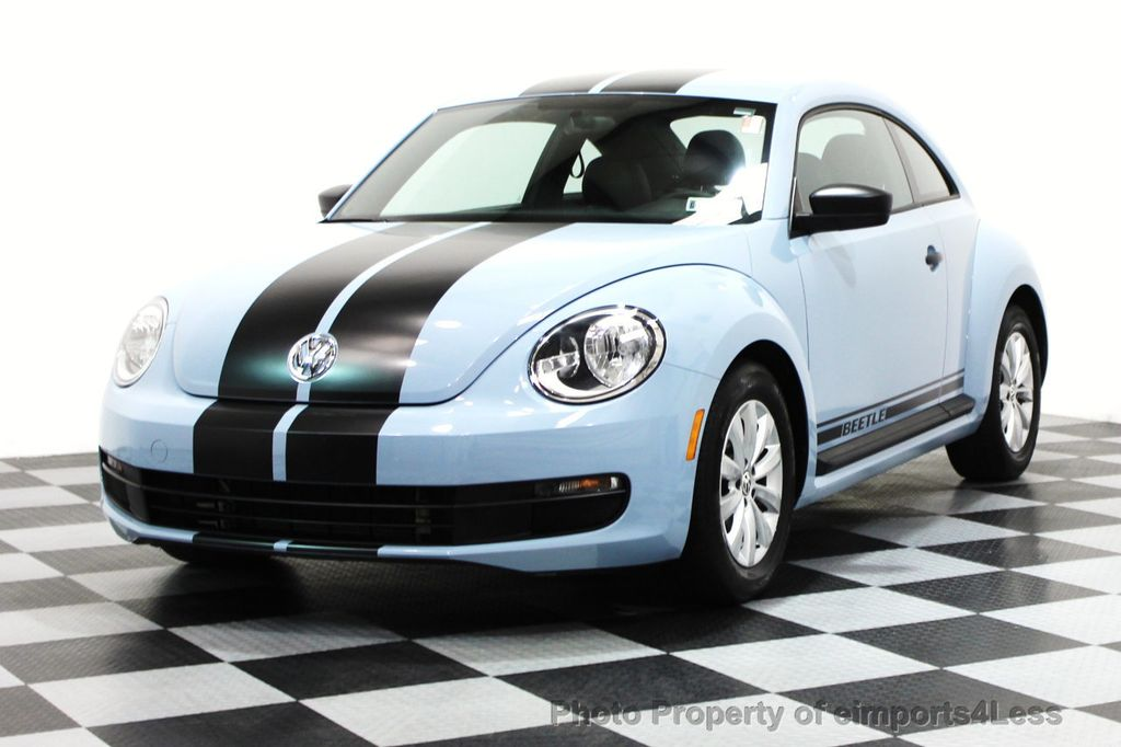 2015 Volkswagen Beetle Coupe CERTIFIED BEETLE 1.8T CLASSIC COUPE - 16112276 - 0