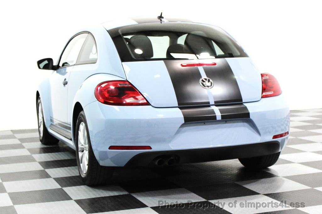 2015 Volkswagen Beetle Coupe CERTIFIED BEETLE 1.8T CLASSIC COUPE - 16112276 - 13