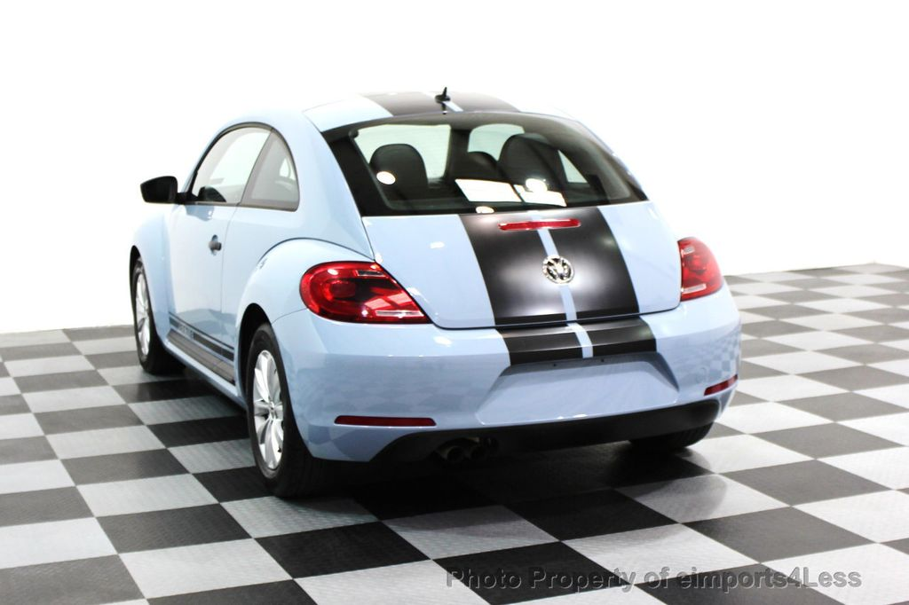 2015 Volkswagen Beetle Coupe CERTIFIED BEETLE 1.8T CLASSIC COUPE - 16112276 - 15