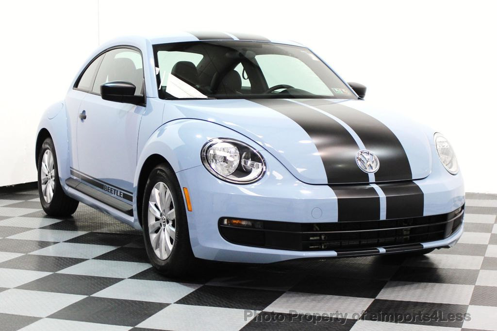 2015 Volkswagen Beetle Coupe CERTIFIED BEETLE 1.8T CLASSIC COUPE - 16112276 - 1
