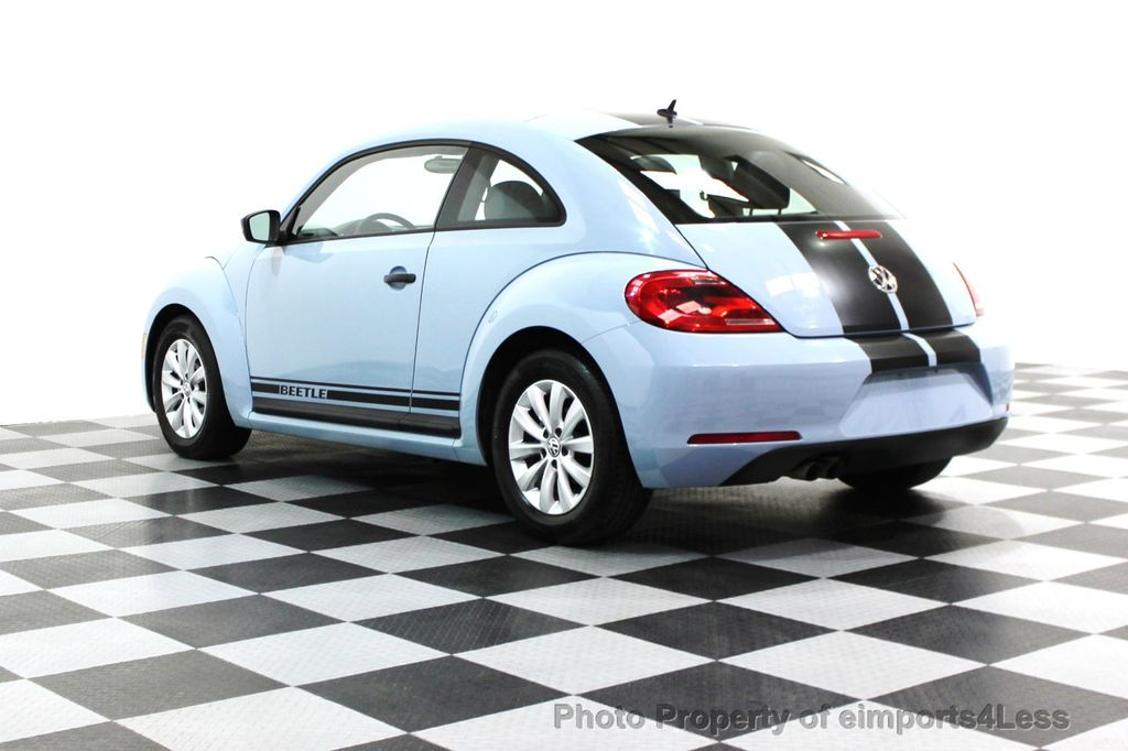 2015 Volkswagen Beetle Coupe CERTIFIED BEETLE 1.8T CLASSIC COUPE - 16112276 - 24
