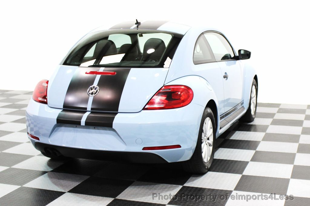 2015 Volkswagen Beetle Coupe CERTIFIED BEETLE 1.8T CLASSIC COUPE - 16112276 - 25