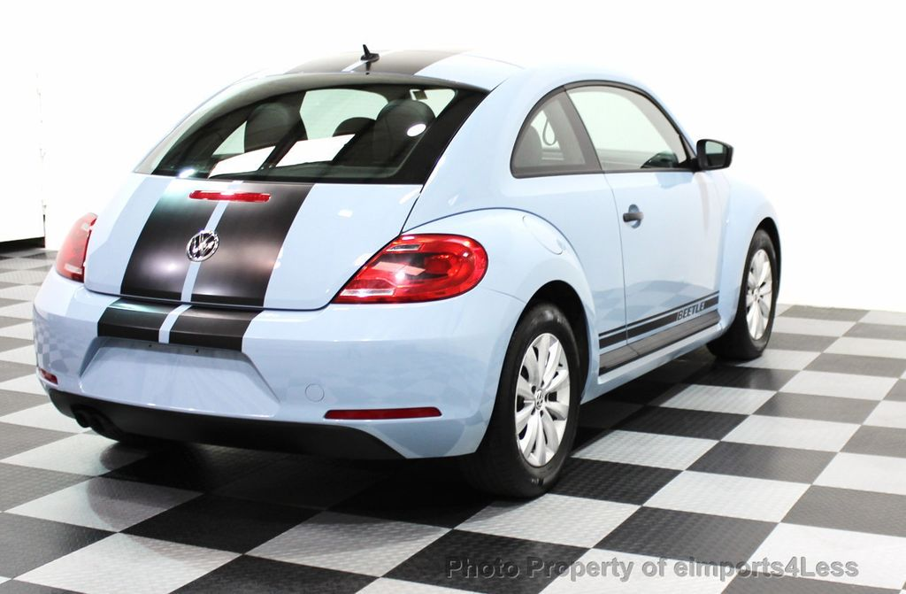 2015 Volkswagen Beetle Coupe CERTIFIED BEETLE 1.8T CLASSIC COUPE - 16112276 - 26