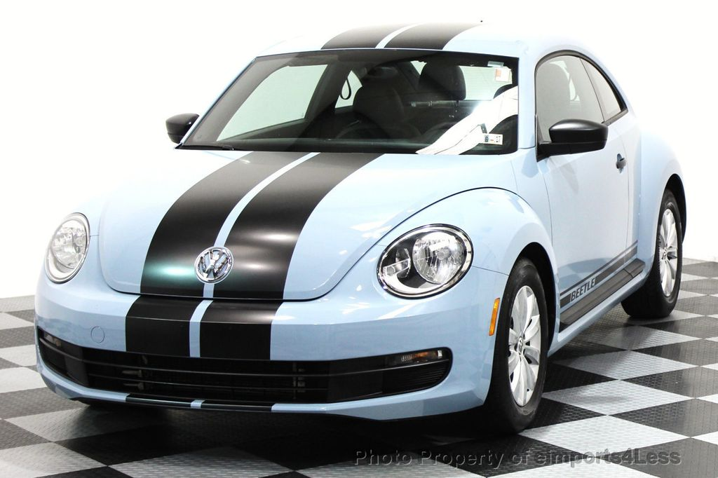 2015 Volkswagen Beetle Coupe CERTIFIED BEETLE 1.8T CLASSIC COUPE - 16112276 - 44