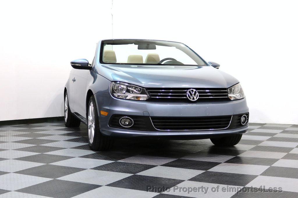 2015 Volkswagen Eos CERTIFIED EOS 2.0TSi NAVIGATION - 17230453 - 13