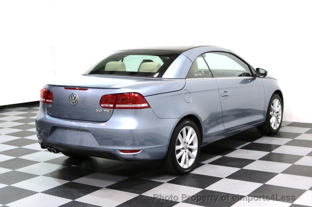 2015 Volkswagen Eos CERTIFIED EOS 2.0TSi NAVIGATION - 17230453 - 28