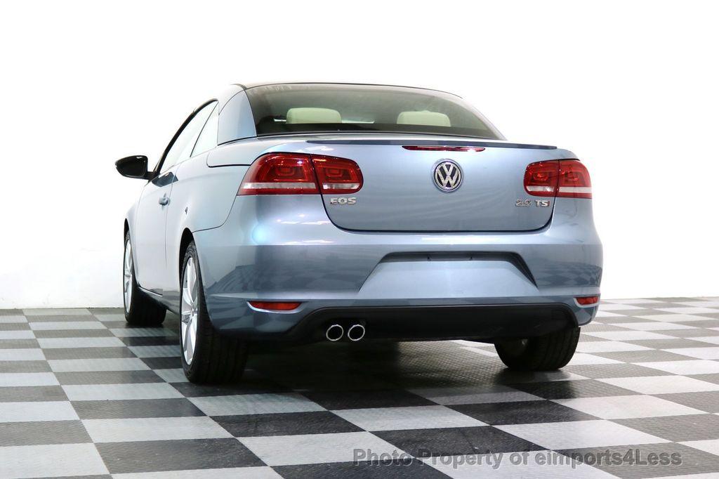 2015 Volkswagen Eos CERTIFIED EOS 2.0TSi NAVIGATION - 17230453 - 42