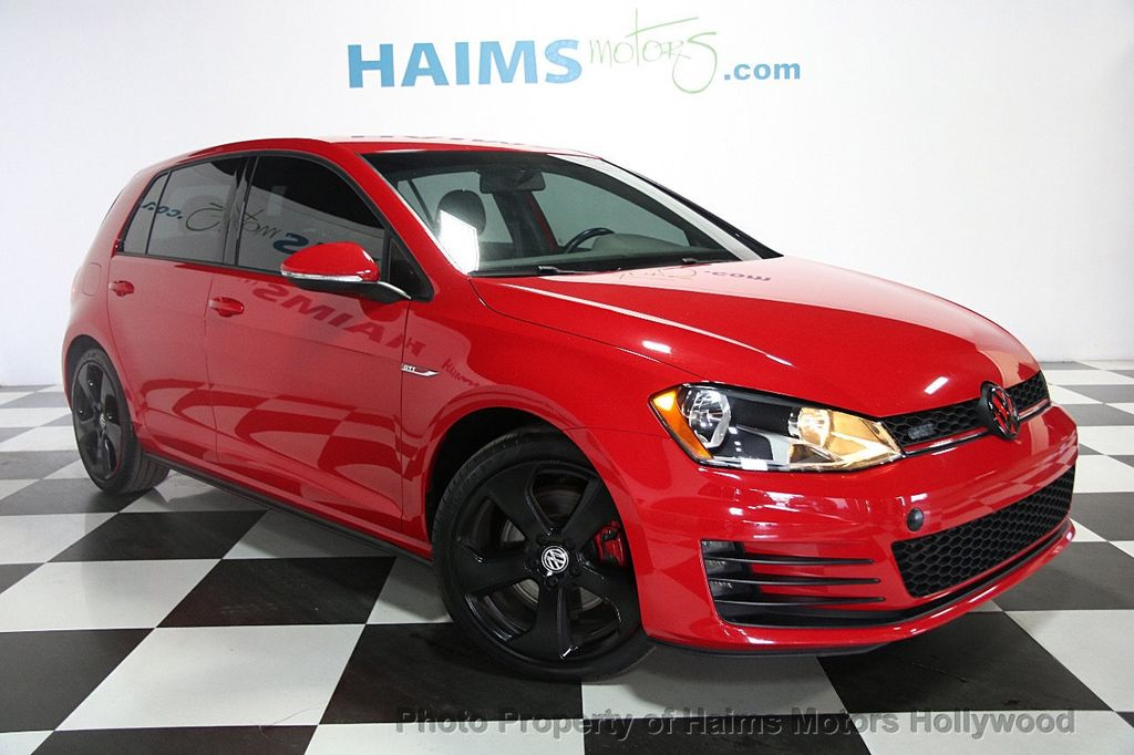 2015 Used Volkswagen Golf Gti At Haims Motors Serving Fort