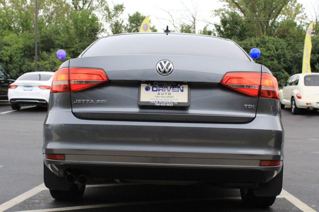 2015 Volkswagen Jetta Sedan 4dr DSG 2.0L TDI SEL - 18066674 - 6