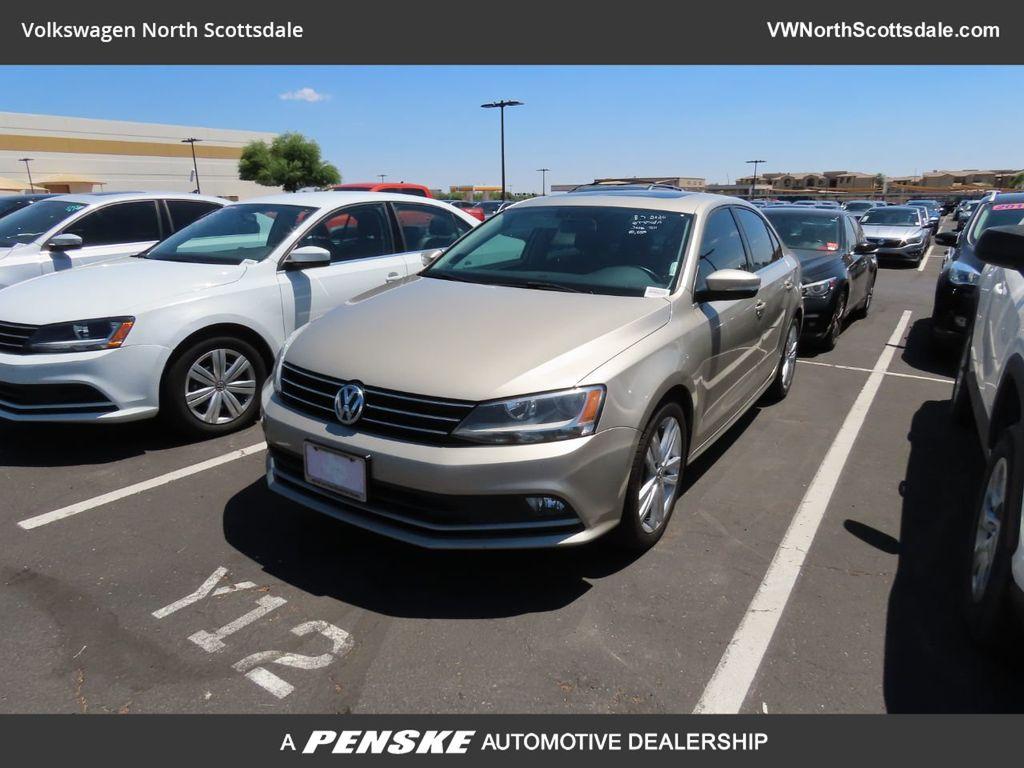 2015 Used Volkswagen Jetta Sedan 4dr DSG 2.0L TDI SEL at Lamborghini North  Scottsdale Serving Phoenix, Tucson, Las Vegas, AZ, IID 20206260