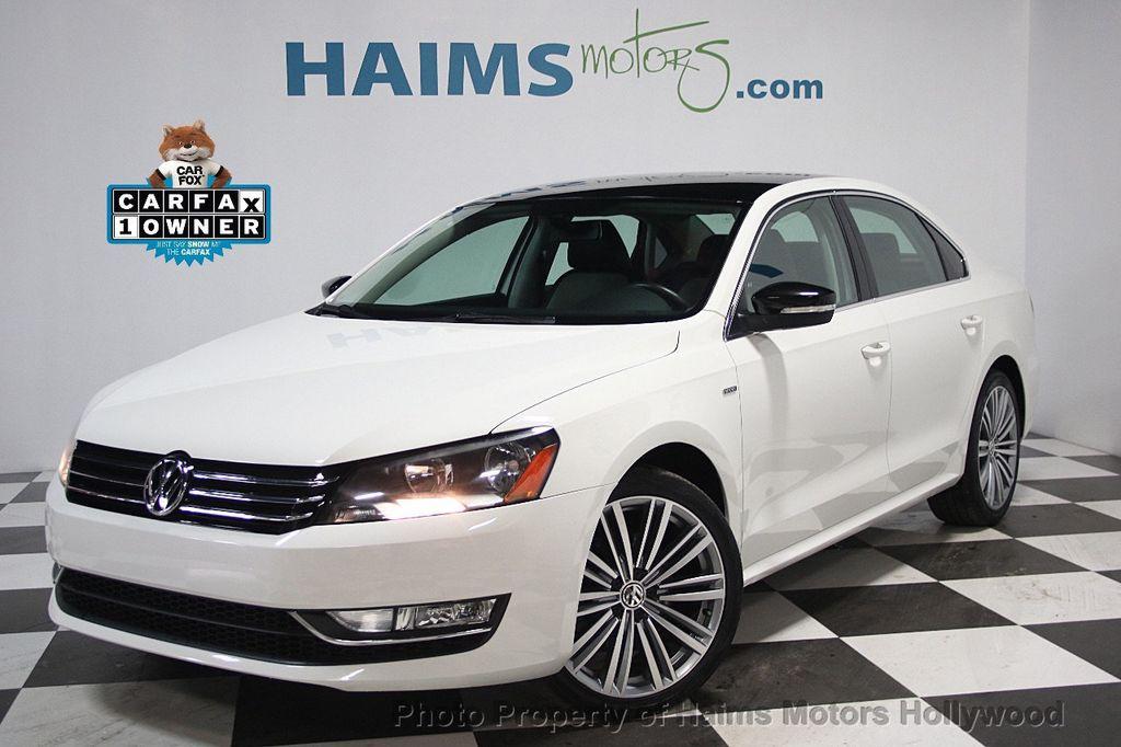 2015 Used Volkswagen Passat 4dr Sedan 1.8T Automatic SE PZEV at Haims Motors Serving Fort ...