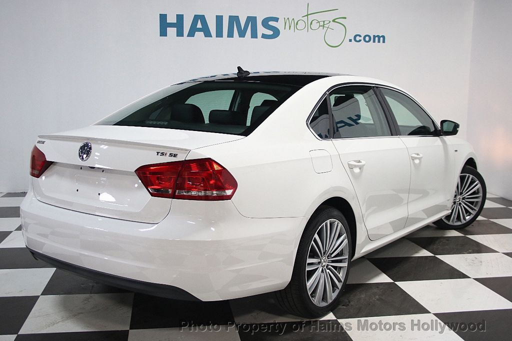 2015 used volkswagen passat 4dr sedan 1 8t automatic se pzev at haims motors ft lauderdale. Black Bedroom Furniture Sets. Home Design Ideas