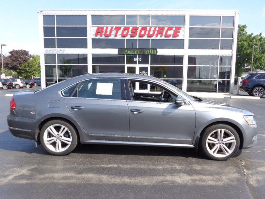 Used Volkswagen Passat >> 2015 Used Volkswagen Passat Tdi Tdi Sel At Autosource Motors Inc Serving Milwaukee Wi Iid 17851900