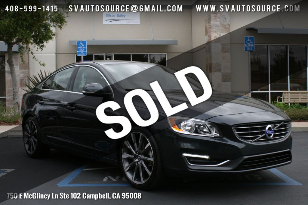 Used Volvo S60 >> 2015 Used Volvo S60 2015 5 4dr Sedan T5 Drive E Premier Fwd At Silicon Valley Auto Source Serving Campbell Ca Iid 18618482