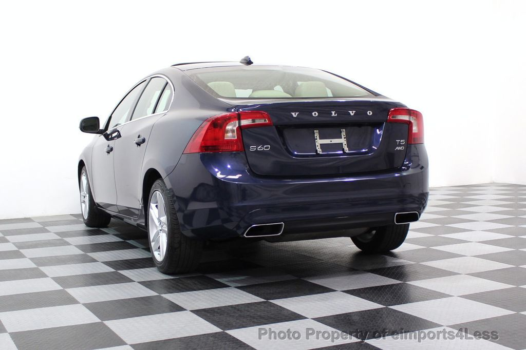 2015 Volvo S60 CERTIFIED S60 T5 Premier AWD CAMERA NAVIGATION - 17545789 - 34