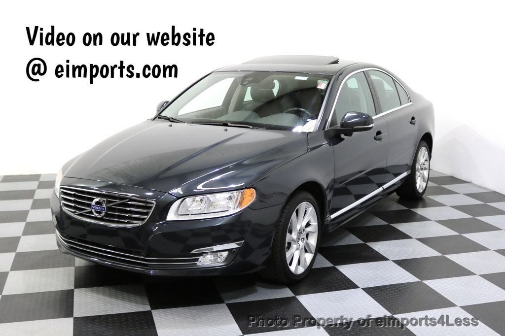 2015 Used Volvo S80 CERTIFIED S80 T6 AWD CAMERA BLIS NAVIGATION at eimports4Less Serving ...