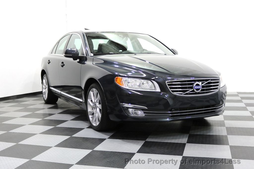 2015 Volvo S80 CERTIFIED S80 T6 AWD CAMERA BLIS NAVIGATION - 17759846 - 1
