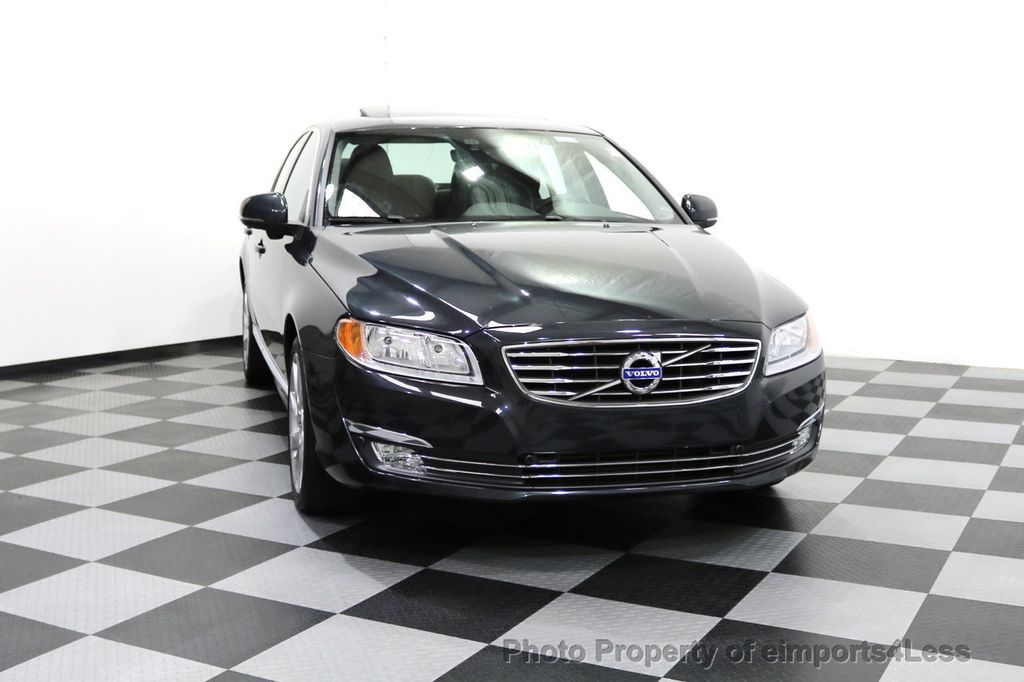 2015 Volvo S80 CERTIFIED S80 T6 AWD CAMERA BLIS NAVIGATION - 17759846 - 57