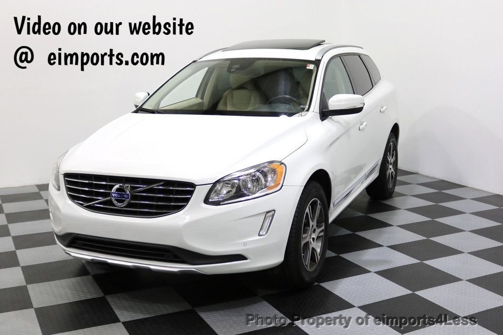 2015 Volvo XC60 CERTIFIED XC60 T6 AWD SUV Blind Spot NAVIGATION - 17759845 - 0