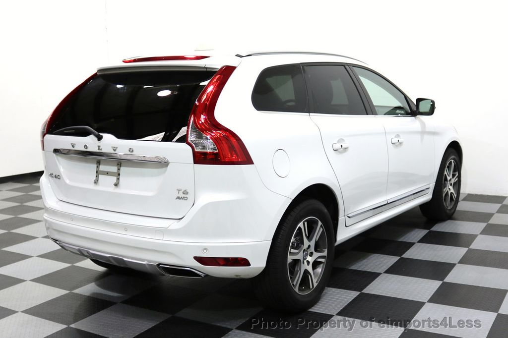 2015 Volvo XC60 CERTIFIED XC60 T6 AWD SUV Blind Spot NAVIGATION - 17759845 - 47