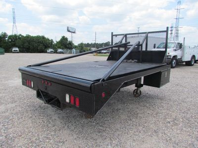2015 Winch Bed Steel Floor