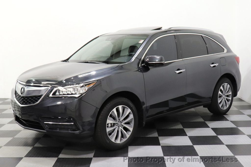 2016 Acura MDX CERTIFIED MDX SH-AWD ACURAWATCH TECH ENT 7 PASS - 18499012 - 12