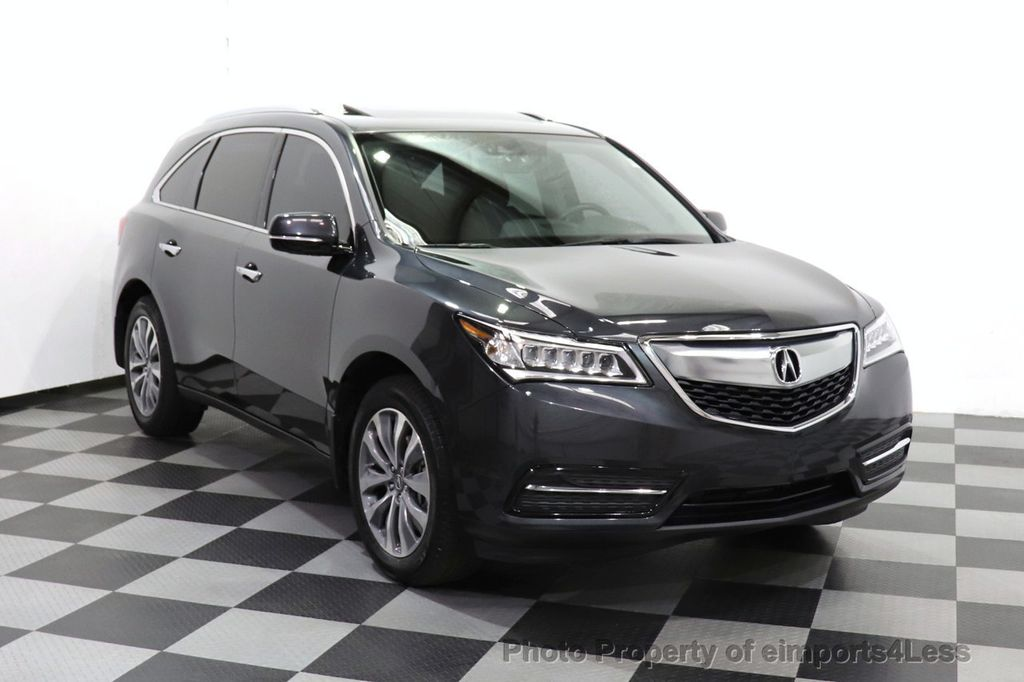 2016 Acura MDX CERTIFIED MDX SH-AWD ACURAWATCH TECH ENT 7 PASS - 18499012 - 13