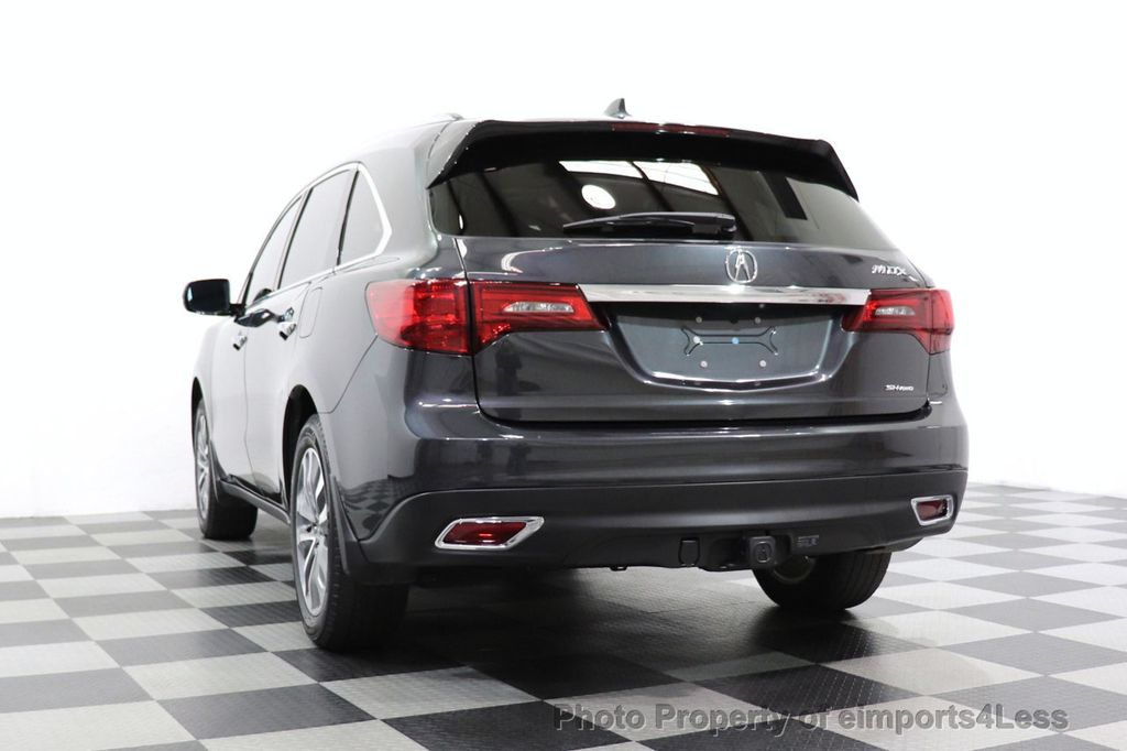 2016 Acura MDX CERTIFIED MDX SH-AWD ACURAWATCH TECH ENT 7 PASS - 18499012 - 14