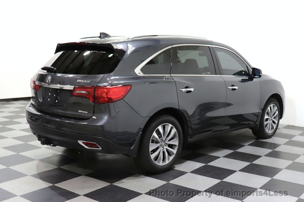 2016 Acura MDX CERTIFIED MDX SH-AWD ACURAWATCH TECH ENT 7 PASS - 18499012 - 16
