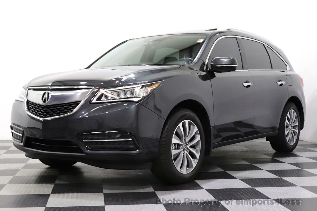 2016 Acura MDX CERTIFIED MDX SH-AWD ACURAWATCH TECH ENT 7 PASS - 18499012 - 26