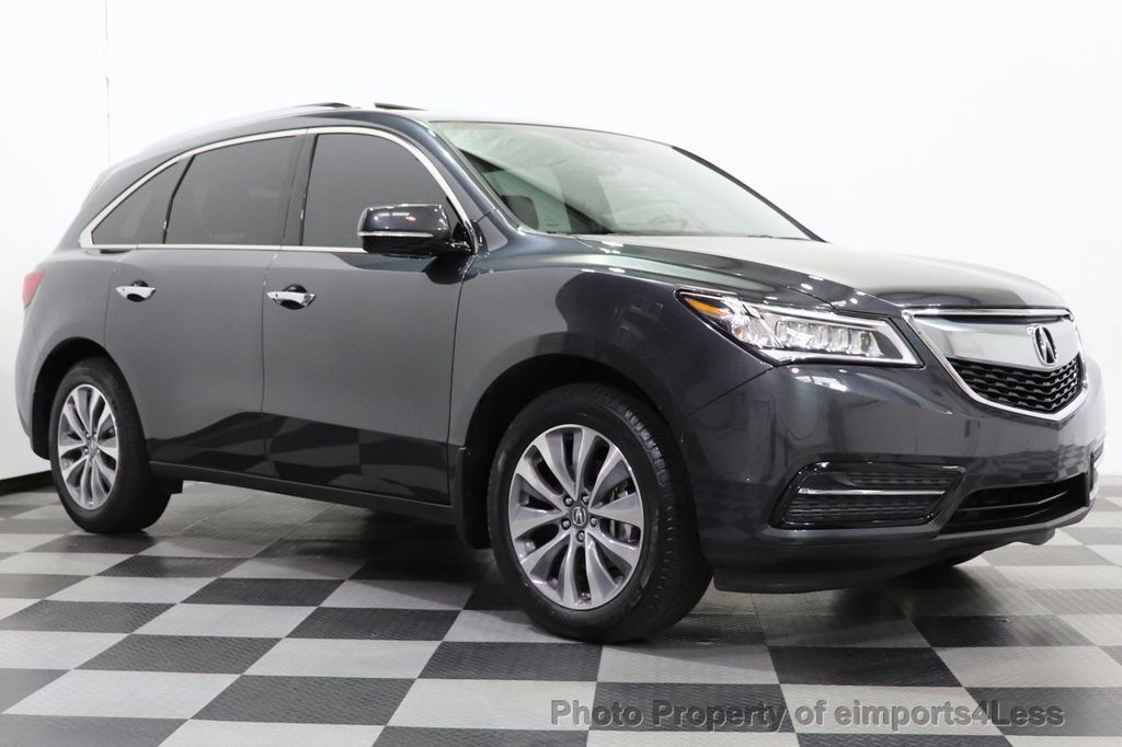 2016 Acura MDX CERTIFIED MDX SH-AWD ACURAWATCH TECH ENT 7 PASS - 18499012 - 27