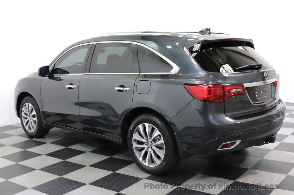 2016 Acura MDX CERTIFIED MDX SH-AWD ACURAWATCH TECH ENT 7 PASS - 18499012 - 28