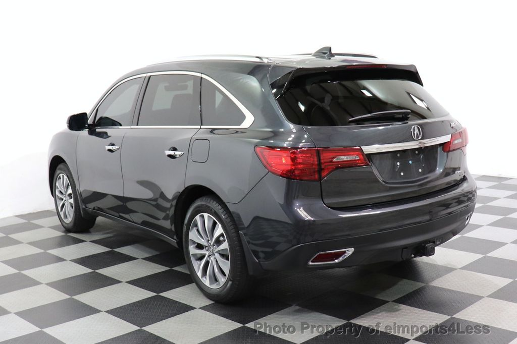 2016 Acura MDX CERTIFIED MDX SH-AWD ACURAWATCH TECH ENT 7 PASS - 18499012 - 2