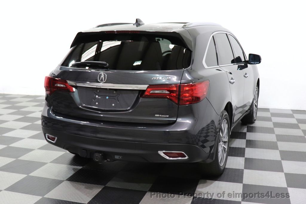 2016 Acura MDX CERTIFIED MDX SH-AWD ACURAWATCH TECH ENT 7 PASS - 18499012 - 30