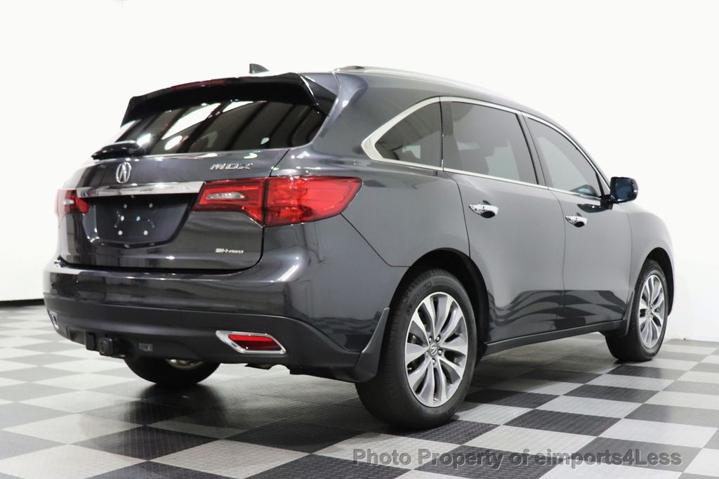 2016 Acura MDX CERTIFIED MDX SH-AWD ACURAWATCH TECH ENT 7 PASS - 18499012 - 3
