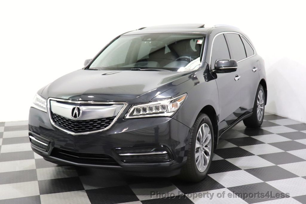 2016 Acura MDX CERTIFIED MDX SH-AWD ACURAWATCH TECH ENT 7 PASS - 18499012 - 44