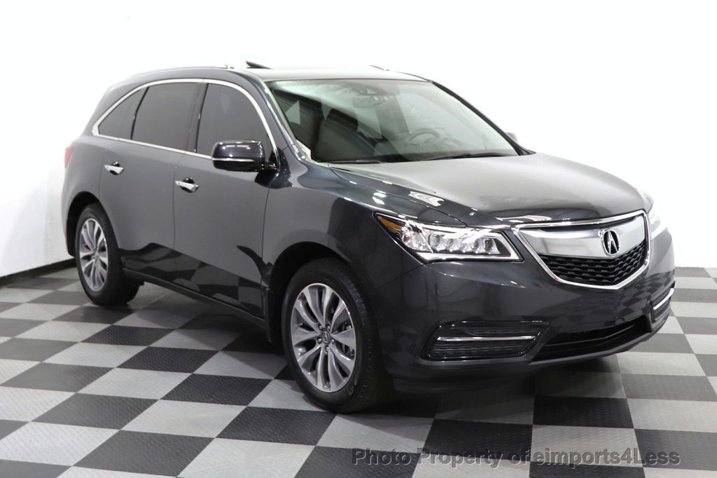 2016 Acura MDX CERTIFIED MDX SH-AWD ACURAWATCH TECH ENT 7 PASS - 18499012 - 45