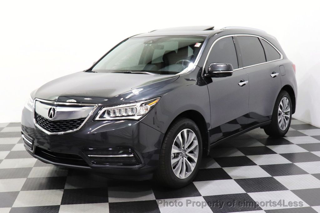 2016 Acura MDX CERTIFIED MDX SH-AWD ACURAWATCH TECH ENT 7 PASS - 18499012 - 46