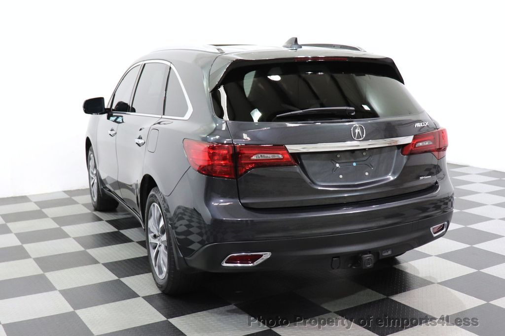 2016 Acura MDX CERTIFIED MDX SH-AWD ACURAWATCH TECH ENT 7 PASS - 18499012 - 47