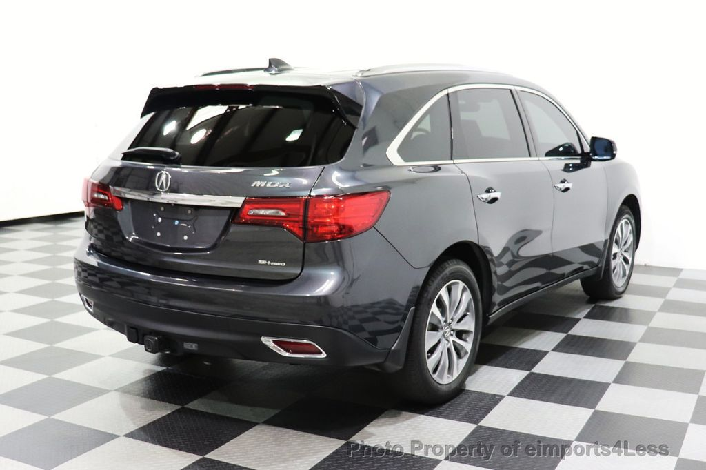2016 Acura MDX CERTIFIED MDX SH-AWD ACURAWATCH TECH ENT 7 PASS - 18499012 - 48
