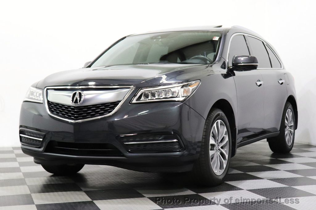 2016 Acura MDX CERTIFIED MDX SH-AWD ACURAWATCH TECH ENT 7 PASS - 18499012 - 54