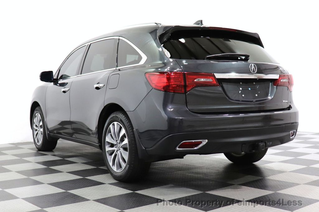 2016 Acura MDX CERTIFIED MDX SH-AWD ACURAWATCH TECH ENT 7 PASS - 18499012 - 55